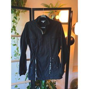 CABI Grey Weekender Parka Jacket